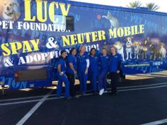 The awesome Lucy Pet Foundation team!