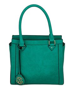 Another great find on #zulily! Emerald Square Satchel #zulilyfinds