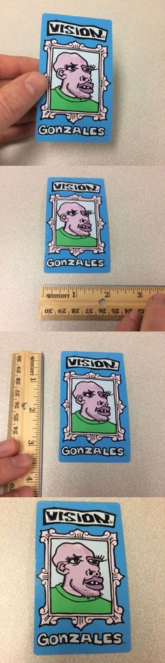 Stickers and Decals 47357: Vision Mark Gonzales Shaved Head Sticker Skateboarding Make Offer -> BUY IT NOW ONLY: $32 on eBay!
