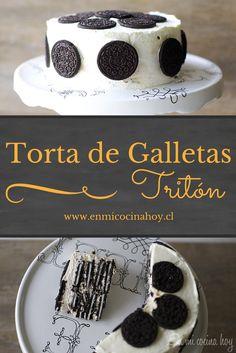 La torta de galletas Tritón es una excelente alternativa si no quieres hornear bizcochos, una torta perfecta para el verano que además se puede servir fría.