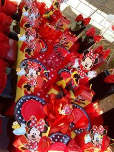 "Photo 6 of 6: Minnie Mouse RED / Birthday ""MINNIE~RED"" 
