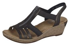From dressy casual sandals to everyday walking shoes, we carry a range of women's summer sandals to suit any style. Check out the full Rieker summer collect Walking Shoes, Canada, Wedges, Sandals, Casual, Women, Style, Fashion, Flat Sandals