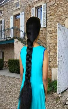 Option to cut it off Long Hair Indian Girls, Indian Long Hair Braid, Indian Hairstyles, Down Hairstyles, Braided Hairstyles, Two Braids, Braids For Long Hair, Beautiful Braids, Beautiful Long Hair