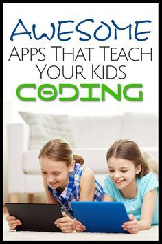 This collection of apps will help your kids learn how to code and beyond!