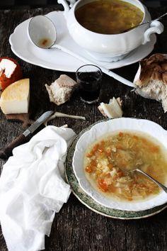Sopa de Couve Lombarda e Cenoura // Savoy Cabbage and Carrot Soup