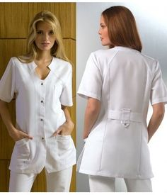 Staff Uniforms, Medical Uniforms, Teacher Apron, Nursing Dress, Scrubs, Plus Size Outfits, Chef Jackets, Polyester, Shirt Dress