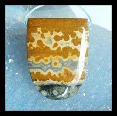 Items similar to Ocean Jasper Pendant Bead,Semi Precious Stone on Etsy Stone Beads, Jasper, Wine Glass, Ocean, Pendant, Tableware, Etsy, Dinnerware, Trailers