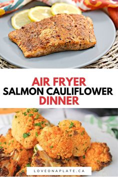 Easy and delicious blackened salmon in the Air Fryer. Homemade spice rub, with the earthy flavors of chili powder, cumin, paprika. Slightly crisp exterior, flakey and tender inside. Salmon Chowder, Fish Chowder, Clam Chowder, Salmon Recipes, Fish Recipes, Seafood Recipes, New Recipes, Blackened Seasoning, Salmon Tacos