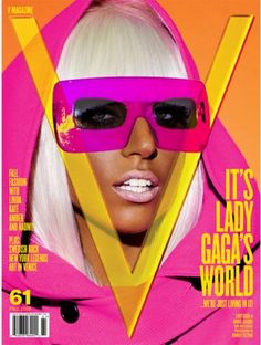 Lady Gaga V Magazine Issue 61 Cover And Shoot by Mario Testino