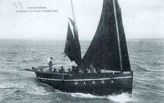 """D 1654 """"Deo Juvante"""",  1910 Galerie de bateaux de pêche de DOUARNENEZ (chaloupe) - www.bagoucozdz.fr"""