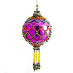 beaded ornaments!
