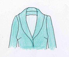 Comment coudre et monter un col châle. In the mood for couture