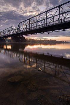 New Hope-Lambertville Bridge, Delaware River, Lambertville, New Jersey & New Hope, Pennsylvania