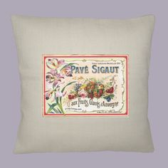 Vintage French Fruits Glace Label on  OYSTER by WhimsyFrills, $28.00