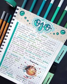 Bullet Journal Banner, Bullet Journal Notes, Bullet Journal Aesthetic, Bullet Journal School, Bullet Journal Ideas Pages, Cute Notes, Pretty Notes, College Notes, School Notes