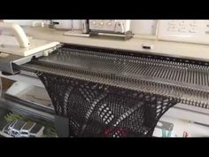 For Brother Electonic Knitting machine - YouTube
