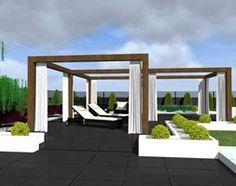 nowoczesny ogród w Łodzi - zdjęcie od ap. studio architektoniczne Aurelia Palczewska-Dreszler