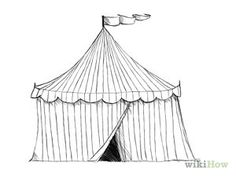 Draw a Circus Tent