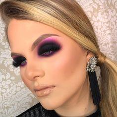 Make for light skin - Makeup - Supermarket Riot Black Eye Makeup, Edgy Makeup, Glam Makeup Look, Makeup Eye Looks, Beautiful Eye Makeup, Colorful Eye Makeup, Smokey Eye Makeup, Pretty Makeup, Makeup Tips