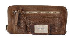 Cowboysbag Portemonnaie PURSE AYR Geldbörse aus Leder von Cowboysbelt, taupe (hellbraun) Leder Geldbörsen