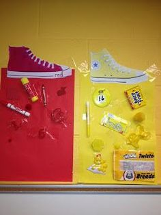 Use with Pete the Cat: I Love my White Shoes