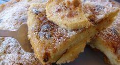 Τσιζκεικ με την πιο Τέλεια Κρέμα με Ζαχαρούχο Γάλα | womanoclock.gr Sweets Recipes, Desserts, Banana Bread, French Toast, Sandwiches, Cheesecake, Food And Drink, Breakfast, Holidays