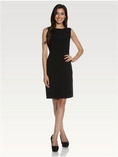 Sleeveless Shift Dress High Neck Dress, Style, Black, Dresses, Fashion, Latest Fashion, Turtleneck Dress, Swag, Vestidos