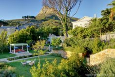 Lion's Head view from the garden, Enigma Mansion