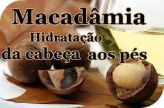 Óleo de Macadâmia Hidratação da Cabeça aos pés! | Feminina e Original ♡