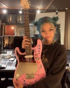 Explodes Aesthetic Gif, Aesthetic Pictures, Indie Singers, Crystal Aesthetic, Future Photos, Women In Music, Her Music, Retro Outfits, Blue Hair