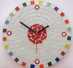 Rota do Mosaico nº 22 : Mosaico: Passo a Passo de Relógio de Parede