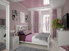 розовый потолок какие обои - Поиск в Google