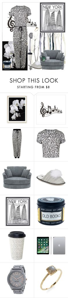 """""""Art Room"""" by oksana-kolesnyk ❤ liked on Polyvore featuring New Look, Kensie, Stephenson, Nine West and Jacquie Aiche"""