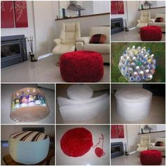 small-ottoman-in-high-end-decor-realized-from-plastic-bottles