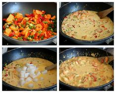 Kreolsk torskegryte - LINDASTUHAUG Risotto, Curry, Food And Drink, Dinner, Ethnic Recipes, Curries, Suppers