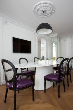 Chaises salle à manger modernes – tout est dans la sobriété !
