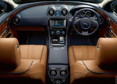 2010 Jaguar XJ - One of the prettiest interiors I've ever seen or sat in.