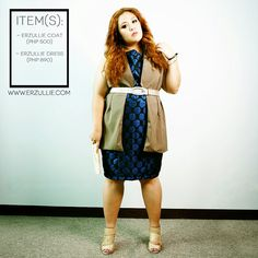 Erzullie Fierce Plus Size Fashion Philippines: PLUS SIZE FASHION: #OOTD COATS AND CIRCLES
