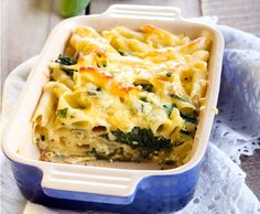 Read our delicious recipe for Spinach & Ricotta Pasta Bake, a recipe from The Healthy Mummy, which will help you lose weight with lots of healthy recipes.