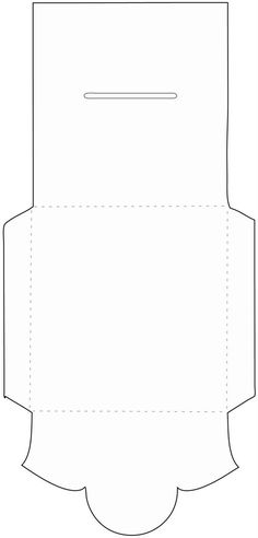 Envelope Template From CreativephotographytricksCom  Diy