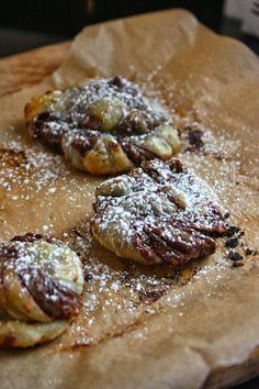 Cannella Vita: nutella twists