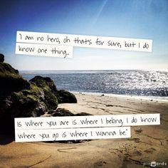 Lyrics: Dave Matthews Band where are you going - tim & my wedding song too.