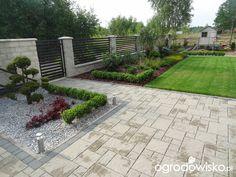 Mały ogród pod białymstokiem Backyard Patio Designs, Diy Planters, Outdoor Landscaping, Dream Garden, Pathways, Garden Paths, Garden Inspiration, Sidewalk, Exterior