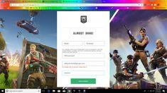 Free fortnite Account Generator 500% working , Yes It ...
