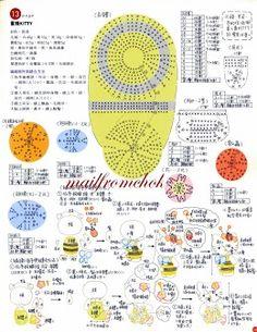 Bee Costume Hello Kitty Amigurumi Instruction 2