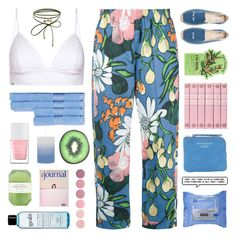 """Jemma's Challenge (set 3) // top set 18.04.17"" by emmas-fashion-diary ❤ liked on Polyvore featuring Marni, Vyayama, Accessorize, Neutrogena, Tony Moly, Soludos, Acne Studios, The Hand & Foot Spa, Pelle and philosophy"