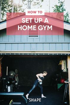 It's easier—and cheaper—than ever to build endurance and strength from the comfort of your own home. So if you're ready to make the step to create your own home gym, here, is your step-by-step guide to creating a home gym for any space on any budget. #athomeworkouts #homegym Home Gym Garage, Gym Room At Home, Workout Room Home, Workout Rooms, Health And Fitness Apps, Good Health Tips, Crossfit Workouts At Home, Cardio Workouts, Pilates Studio