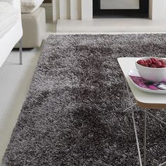 Orlando Luxury Shag Rug   Grey   320 X 230cm