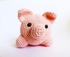 Pig Free Amigurumi Pattern and Video Tutorial 02