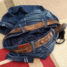 153 #365daysofraw . Leather belt evo. PBJ XX-007 .